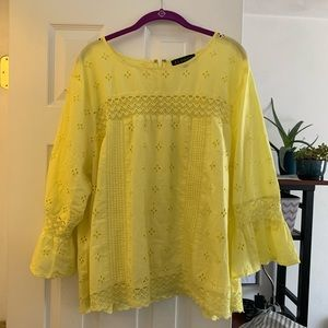 Yellow Summer Blouse
